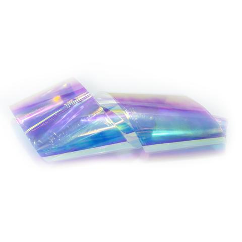 Фольга битое стекло фиолетово-голубая 5*100см
