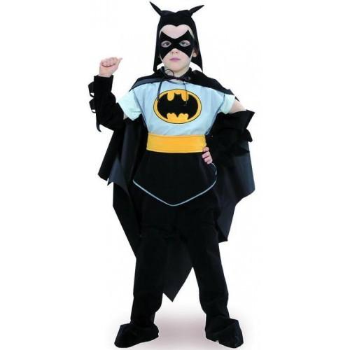 Карнавальный костюм Бэтмен бархат детский