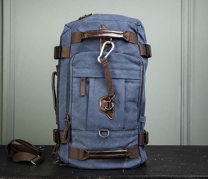 BAG479-3 Большая мужская сумка рюкзак трансформер фото 09