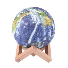 3D Шар светильник-ночник Земля