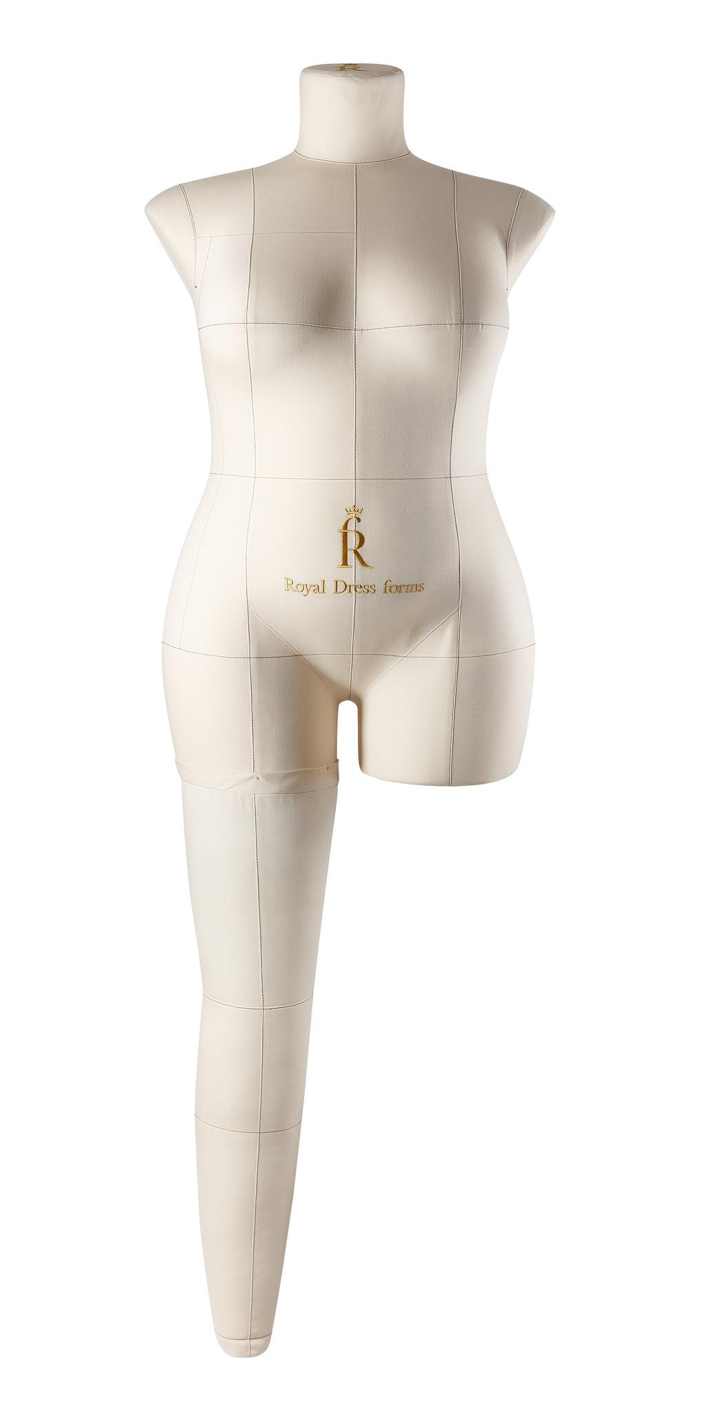 Нога бежевая для манекена Моника, размер 54Фото 0