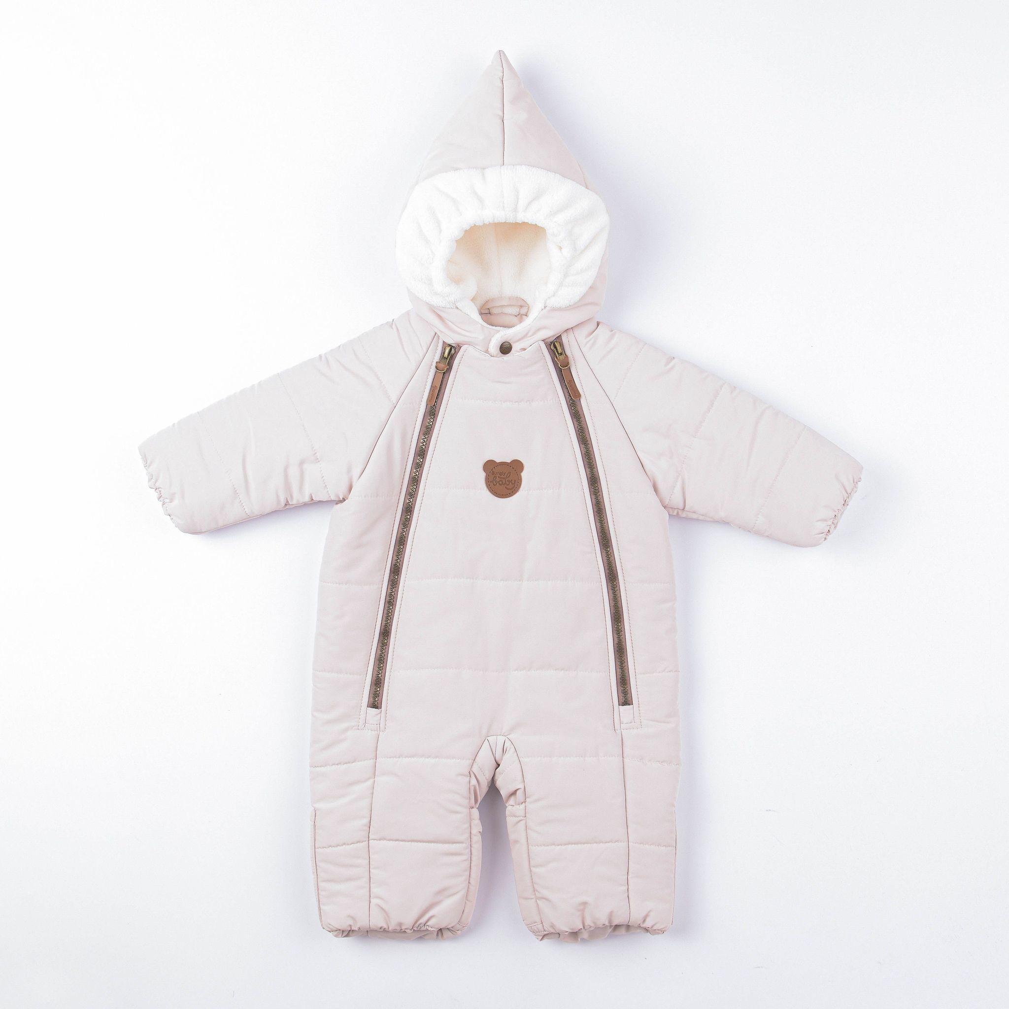 Winter jumpsuit 0+, Сaramel Сream