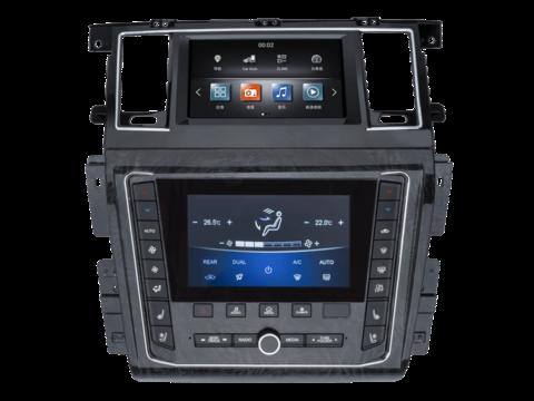 Магнитола для Nissan Patrol Y62 (10-18) Android 9.0 4/64GB IPS DSP модель ZF-2001-DSP