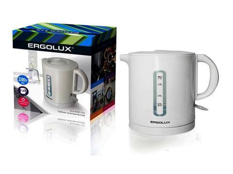Чайник Ergolux ELX-KH01-C01 белый