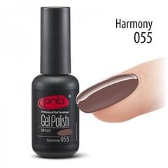 Гель-лак PNB №055, Harmony, 8 мл