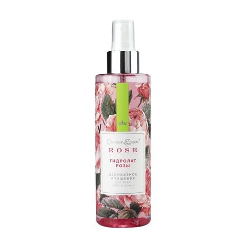 Гидролат розы «Деликатное очищение» для всех типов кожи с абсолютом розы
