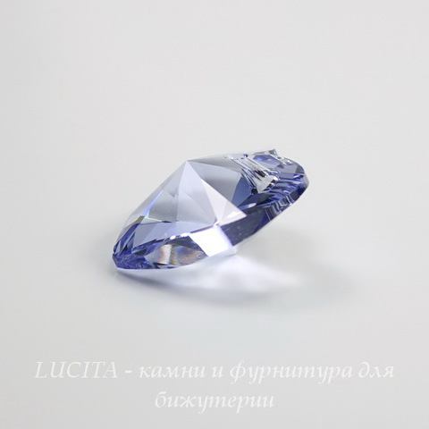 6228 Подвеска Сваровски Сердечко Provence Lavender (18х17,5 мм) ()