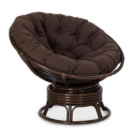 Кресло механическое PAPASAN, 23/01В Б (подушка ткань триплированная С26 цвет коричневый)