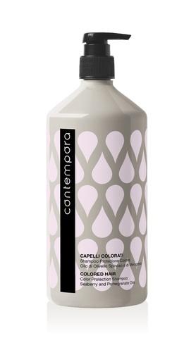 Шампунь для сохранения цвета с маслом облепихи и маслом граната Contempora Barex