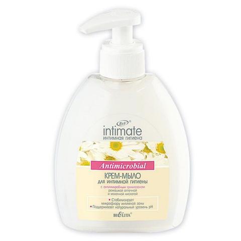 Белита Intimate Крем-мыло с антимикробным триклозаном 300