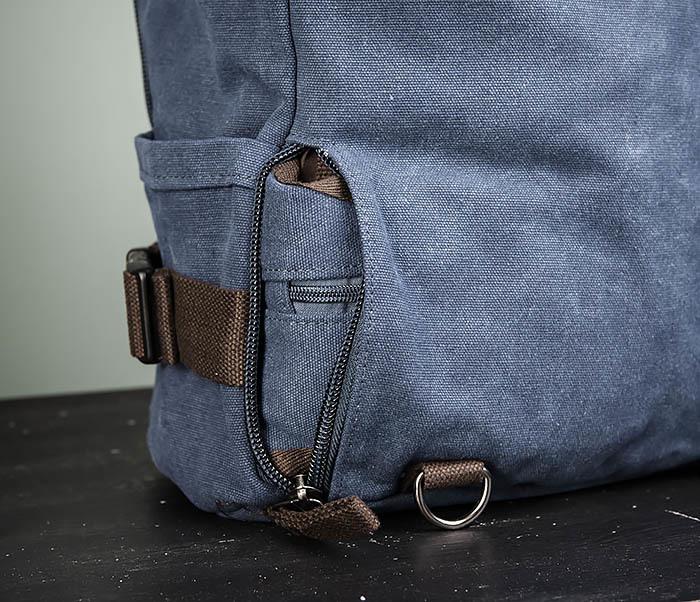 BAG479-3 Большая мужская сумка рюкзак трансформер фото 11