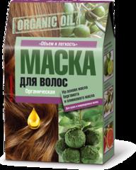 Маска для волос органическая на основе масла бергамота и оливкового масла Объем и легкость 3x30 мл, ТМ Фитокосметик