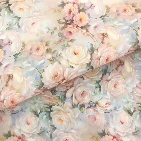 Бумага декоративная Дымчатая роза