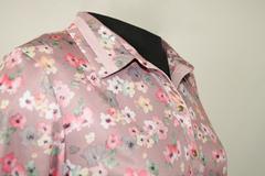 Блузка Laura Canorra 1714R батник цветочки акварель