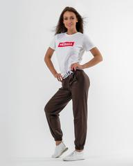Женские брюки Nebbia Sports Drop Crotch pants 529 brown