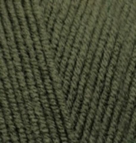 Пряжа Cotton gold Alize 29 Хаки, фото