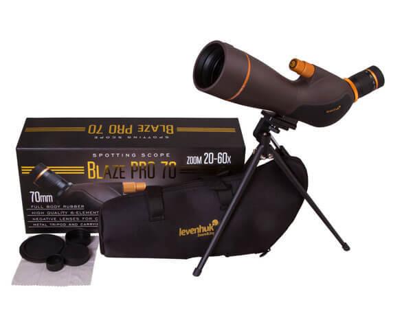 Комплект поставки подзорной трубы Blaze PRO 70