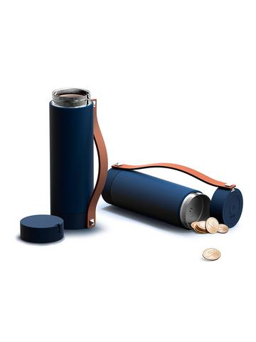 Термос-бутылка Asobu Clutch N Go (0,41 литра), синяя