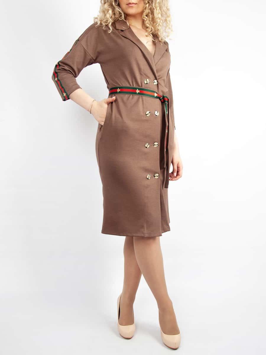 Платье Звёздный час (с брошкой)