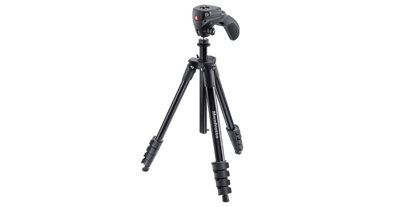 Штатив Manfrotto Compact Action Black AS