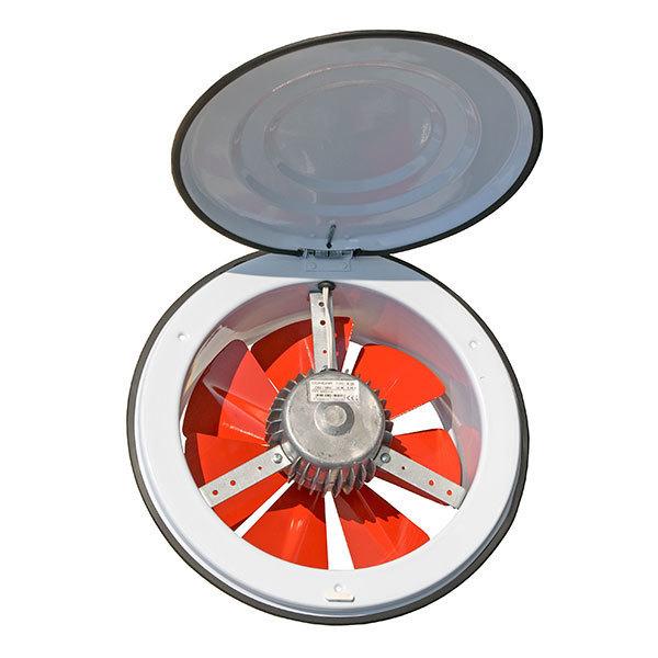 Вентиляторы оконные Осевой приточный оконный вентилятор Dundar K 16 001.jpg