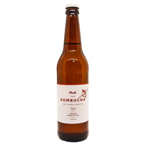 Напиток Комбуча  ЯБЛОКО Royal nut 0,5 стекло