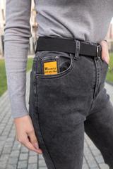 Короткие серые джинсы купить