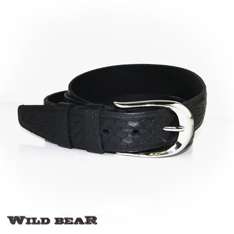 Ремень WILD BEAR RM-021m Black