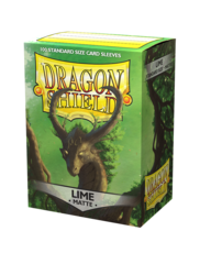 Dragon Shield - Матовые протекторы Lime (100 штук)