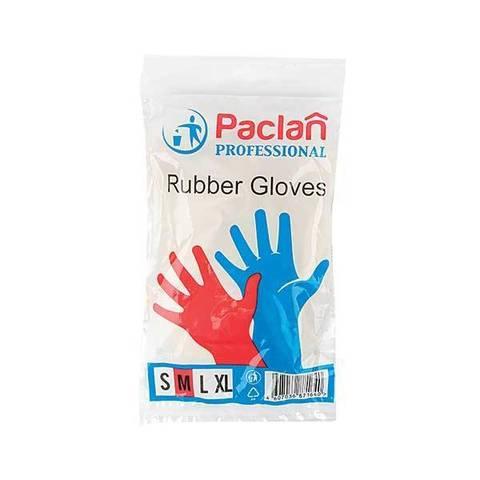 Перчатки резин. х/б напыл. PACLAN PROFESSIONAL размер M
