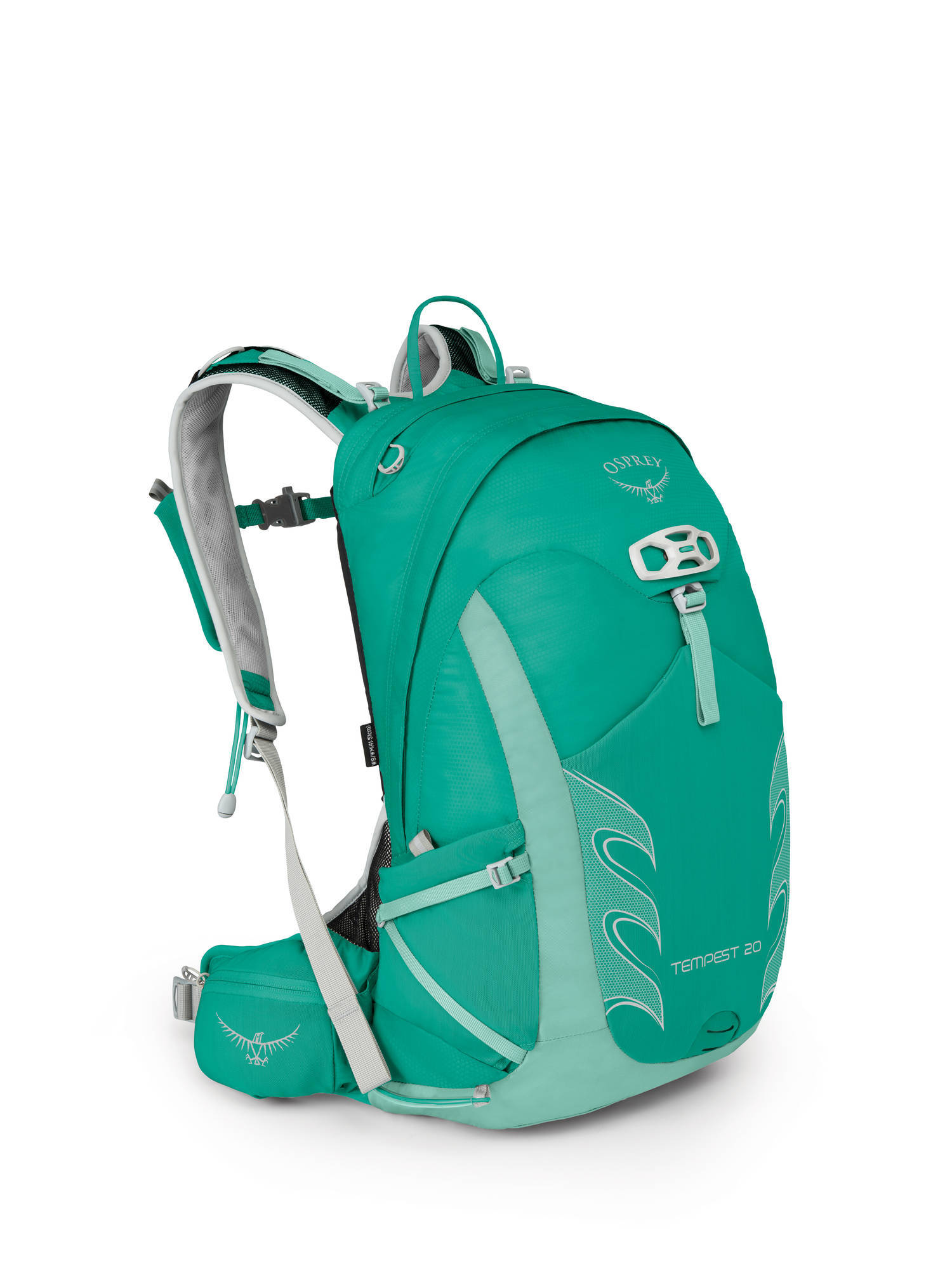 Туристические рюкзаки Рюкзак Osprey Tempest 20 Tempest_20_S17_Side_Lucent_Green_web.jpg