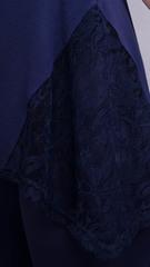 Адель. Повсякденний костюм великих розмірів. Синій.