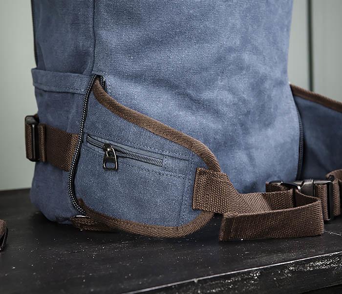 BAG479-3 Большая мужская сумка рюкзак трансформер фото 13