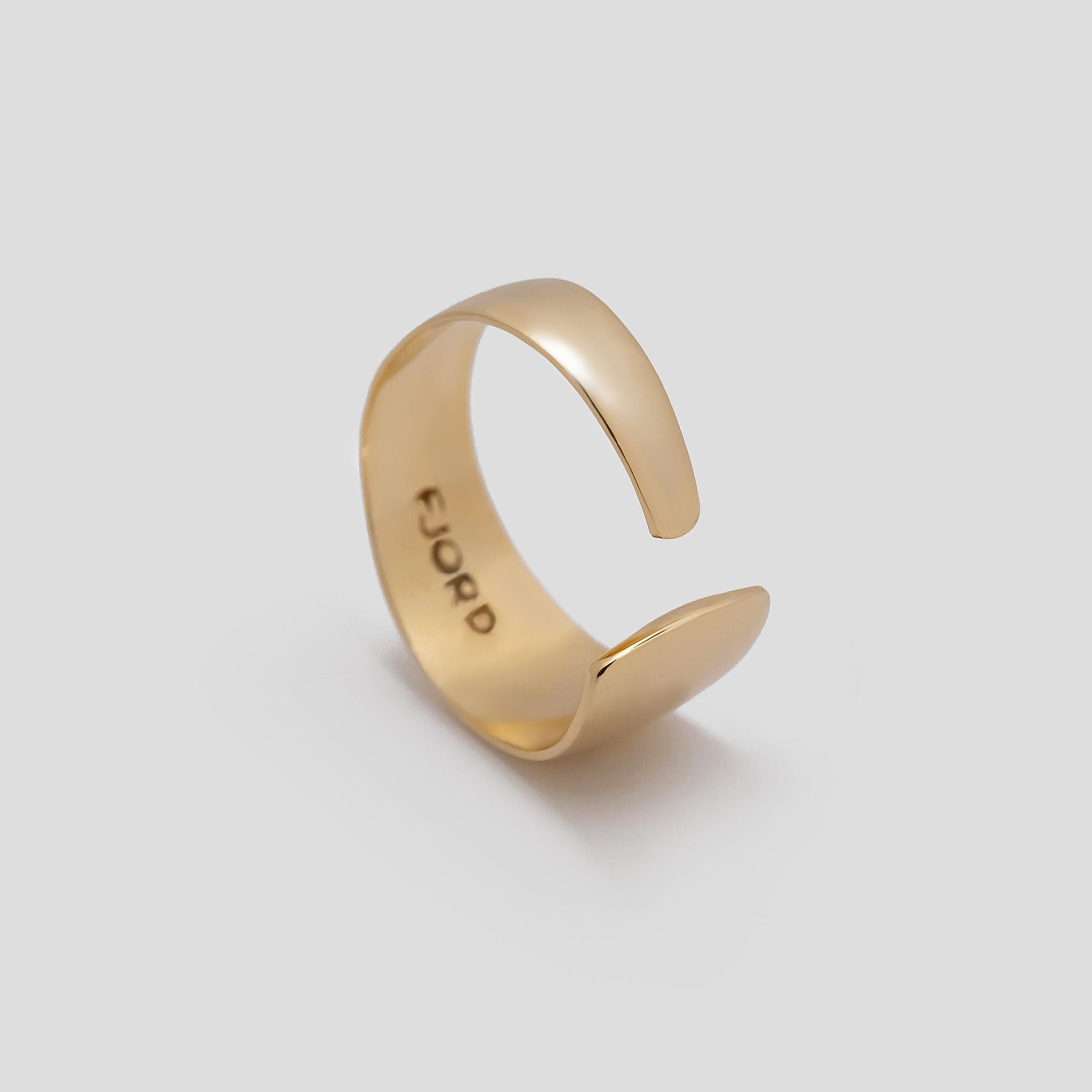 FJORD Позолоченное кольцо Basic