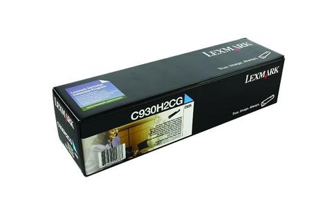 Оригинальный лазерный картридж Lexmark C930H2CG голубой