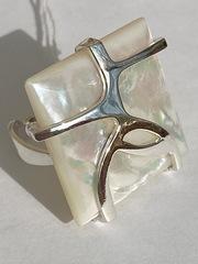 Монэ(кольцо  из серебра)