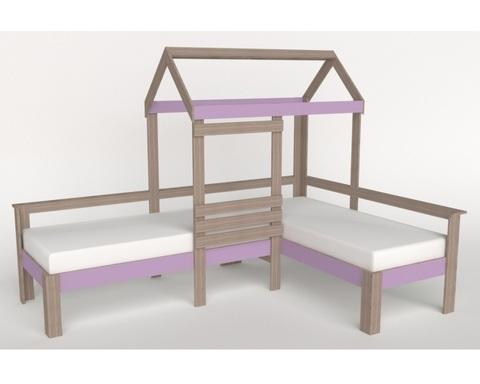 Кровать АВАРА-2-1700-0700 /2552*1800*1832/ левая