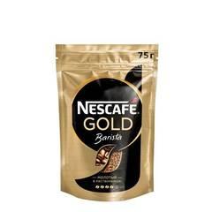 Nescafe Gold Barista растворимый сублимированный, 75г