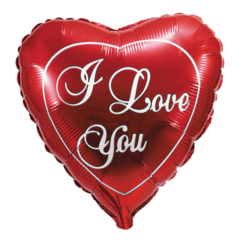 I love you Красный