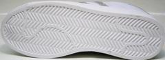 Белые кроссовки адидас Adidas Superstar White Silver-R
