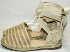 Женская обувь сандалии Small Swan OM243-4Beige.