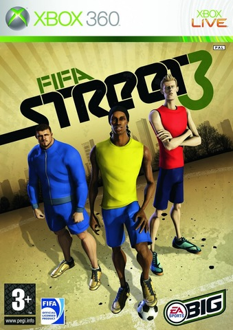 FIFA Street 3 (Xbox 360, английская версия)