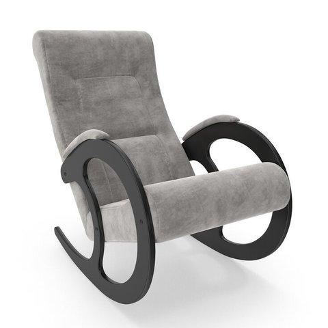 Кресло-качалка Комфорт Модель 3 венге/Verona Light Grey