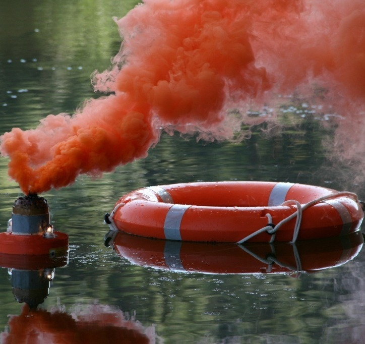 """Man overboard"" buoy"
