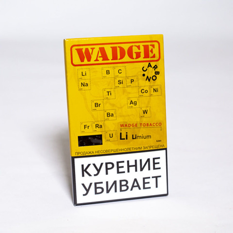 Табак WADGE CARBON 100gr LIMIUM