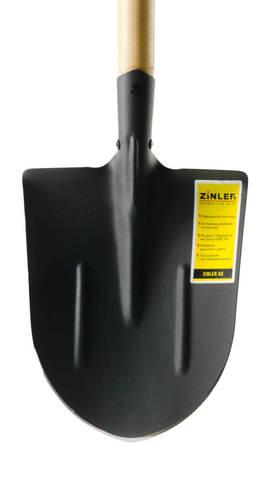 Лопата ZINLER штыковая универсальная с деревянным черенком 1200 мм