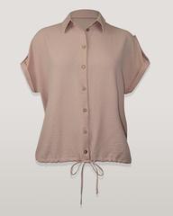 Блузка Kate 5166 рубашка кулиска к/р