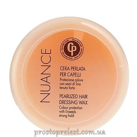 Punti di Vista Nuance CP Hair Dressing Wax - Жемчужный воск-блеск