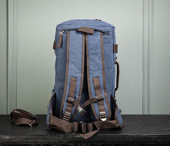 BAG479-3 Большая мужская сумка рюкзак трансформер фото 15