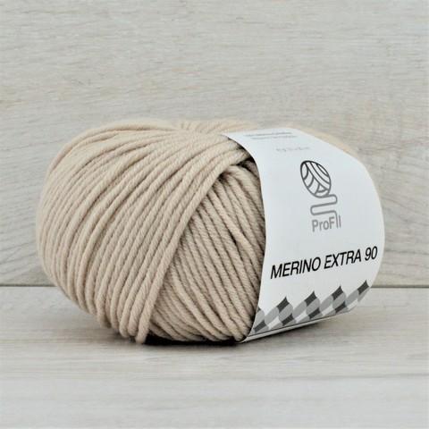 Пряжа Merino Extra 90 (Мерино экстра 90) Светло-бежевый